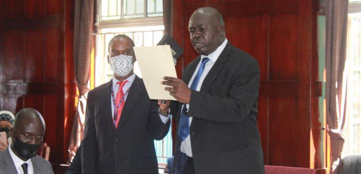 Mr. Jimmy Okello, Member of the JSC